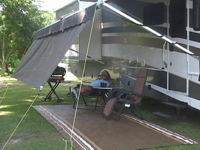 Great RV 101 U2013 Five RV Awning Quick Tips » Patio Awning