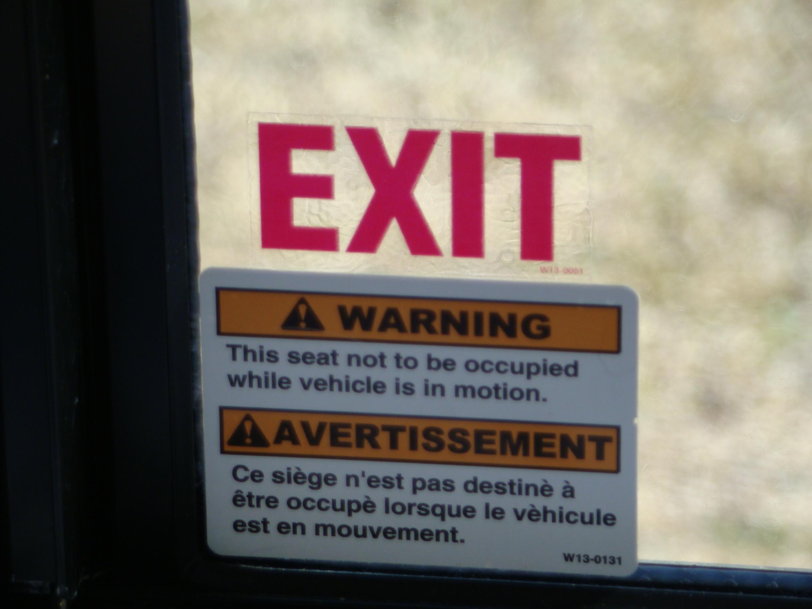 Emergency Window