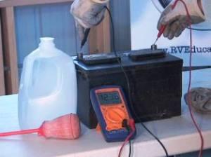 Testing RV Battery