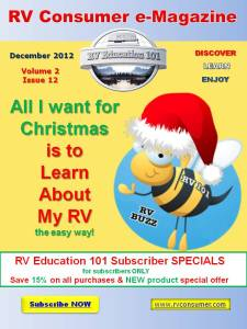 RV Consumer Magazine December 2012