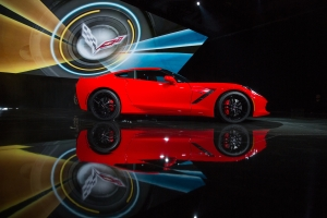 2014 Corvette Stingray at reveal