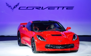 2014 Corvette Stingray debut NAIAS