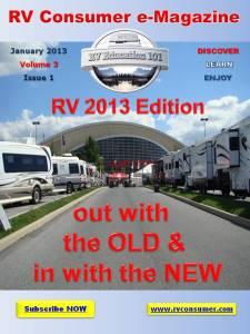 RV Consumer Magazine January 2013