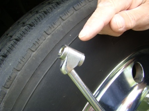 Tire Inflation Gauge