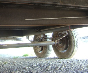 Travel Trailer Axle