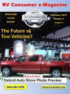 RV Consumer Magazine February 2013