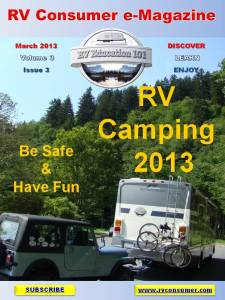 RV Consumer Magazine March 2013