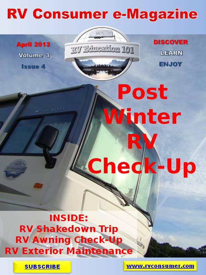 Rv Consumer Free E Magazine April 2013 Rv 101 174 Your