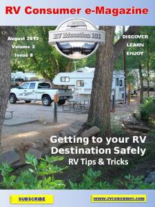 RV Consumer Magazine August 2013