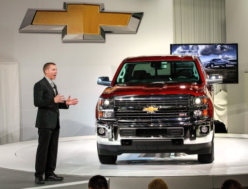 2015 Silverado HD Photo for editorial use only Copyright GM