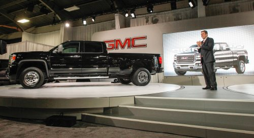 2015 GMC Sierra HD Photo for editorial use only Copyright GM