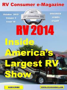 RV Consumer Magazine October 2013