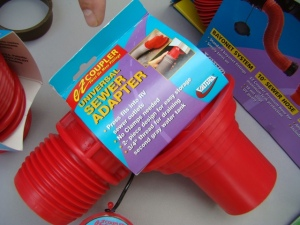 RV Sewer Hose Adapters