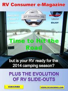 RV Consumer Magazine April 2014