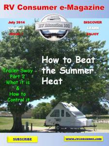 RV Consumer Magazine July 2014