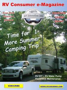 RV Consumer Magazine September 2014