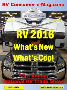 RV Consumer Magazine Jan 2016cover