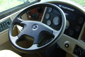 RV steering wheel