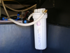 RV water filter