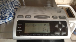 weather radio.