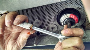 Generator oil filter