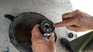 Install oil filter