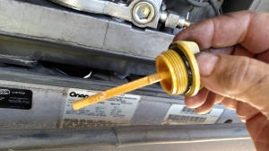 Check engine oil