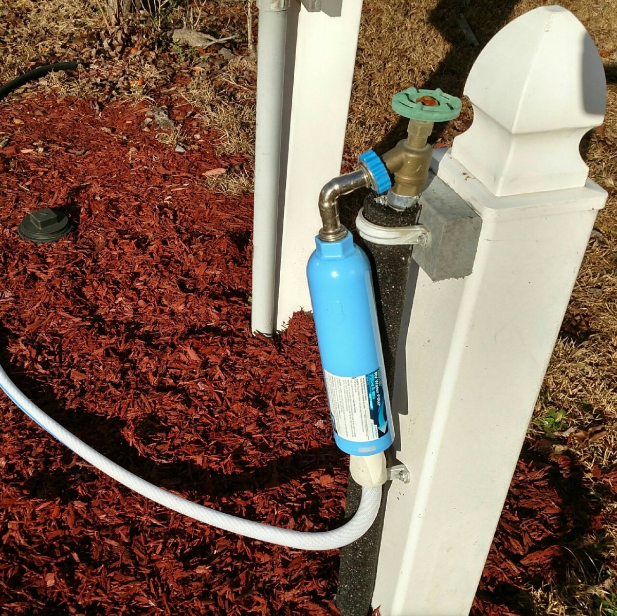 rv water hookup filter