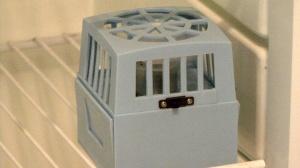 fan in RV refrigerator