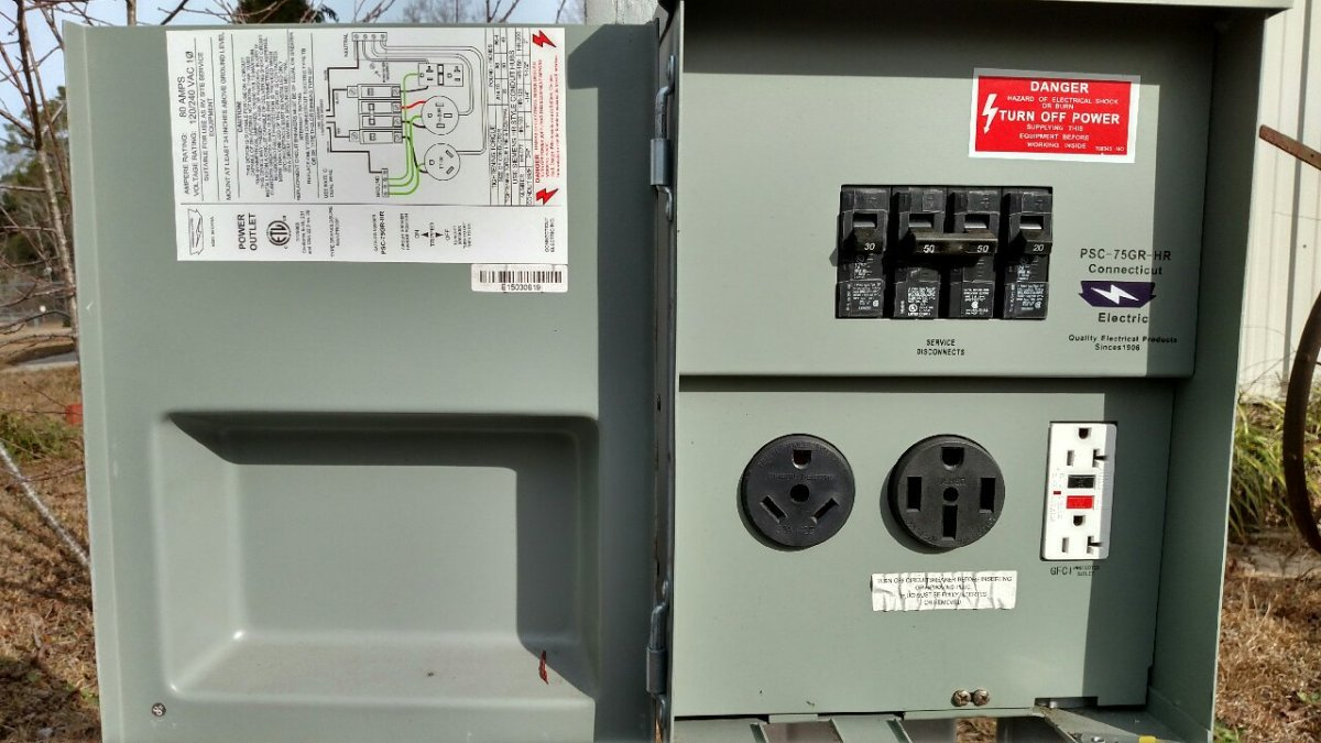 What Are You Plugging Into At The Rv Campground 101 Your Wiring Diagram Besides 30 Panel Additionally 50 Education Source For Information